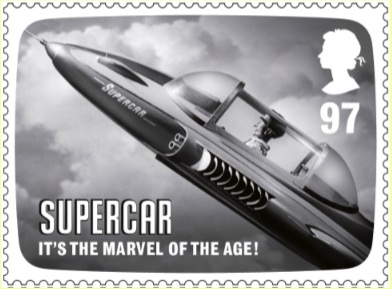 Supermarionation Turns Commemorative Stamps Are Go
