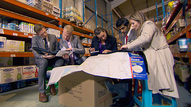 So how do we get out of this warehouse again? (image courtesy of bbc.co.uk)