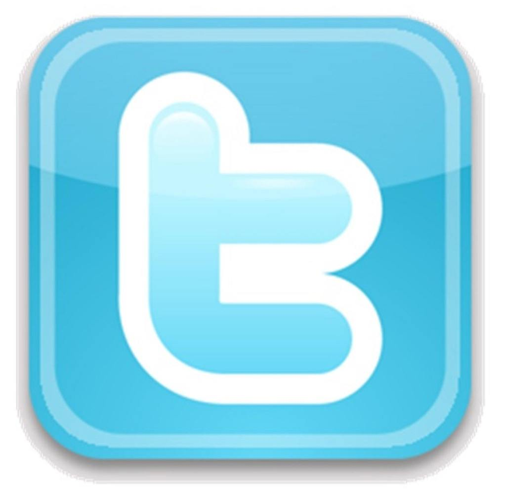 Twitter logo square