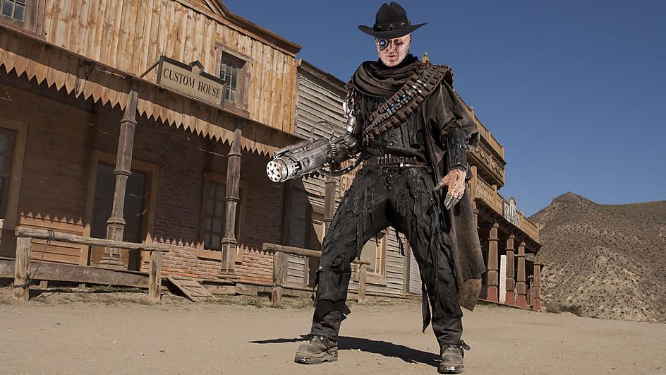 Doctor Who season 7 episode 3 A Town Called Mercy Gunslinger 2