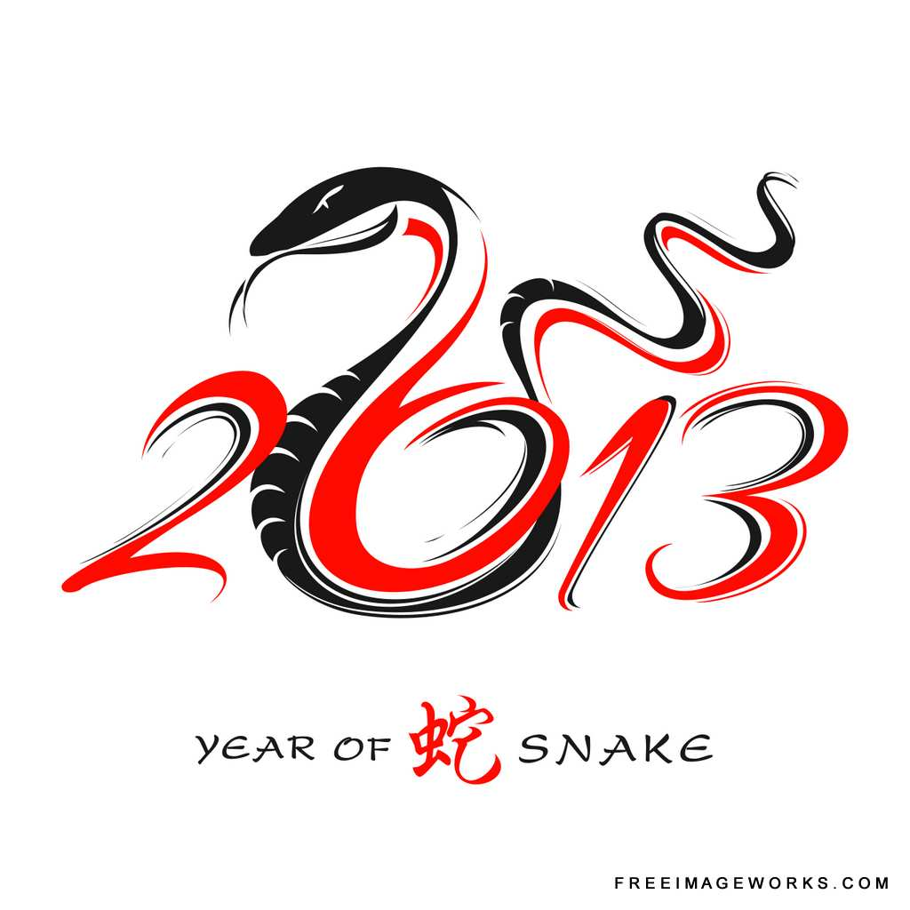 Chinese New Year 2013 snake