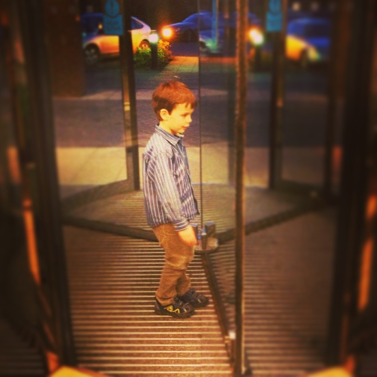 Isaac revolving door