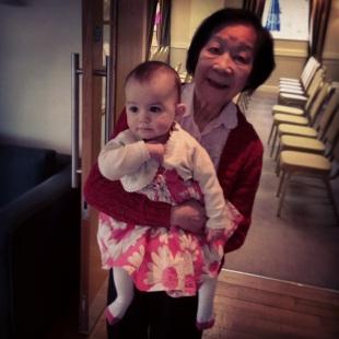Kara and her doting Grandma