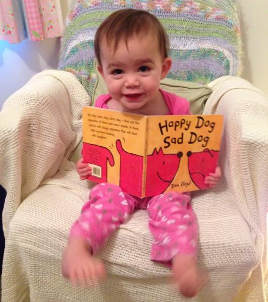 Kara reading