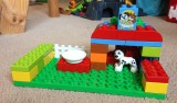 The great Duplo doghouse incident