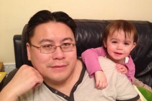 Kara with Daddy