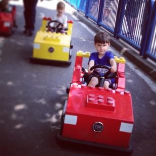 Toby Legoland driving school