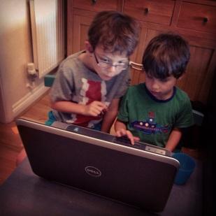 Isaac Toby laptop