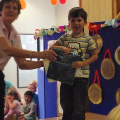 Toby preschool graduation