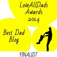 LoveAllDads Awards 2014 Best Dad Blog logo