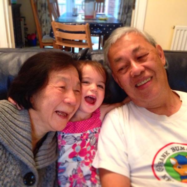 Kara and grandparents