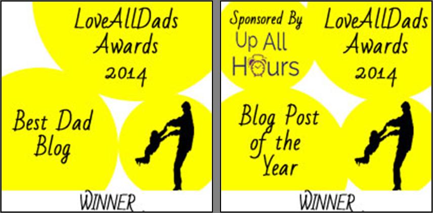LoveAllDads Awards winner tandem logo