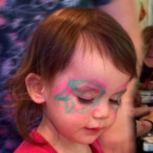 Kara butterfly face