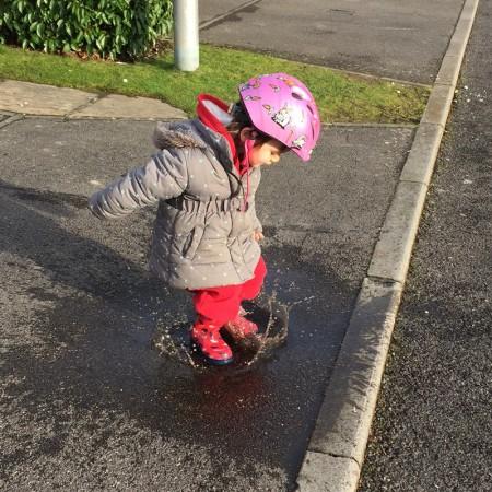 Kara puddle jump