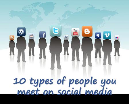 10 social media types