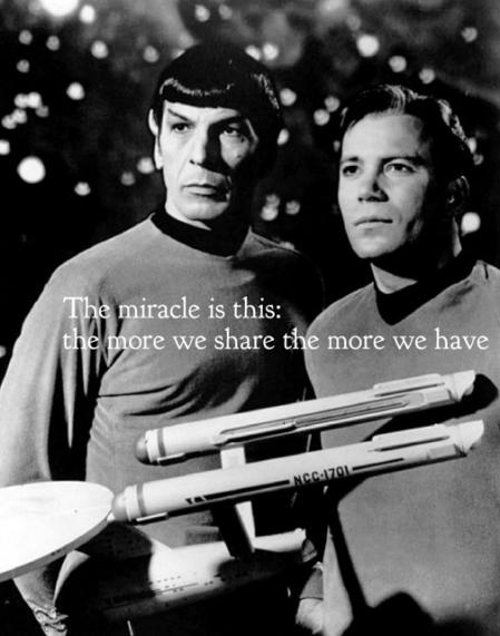 Leonard Nimoy words of wisdom