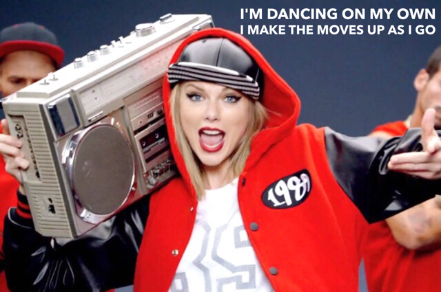 Taylor Swift Shake It Off captioned