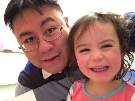 Daddy and Kara