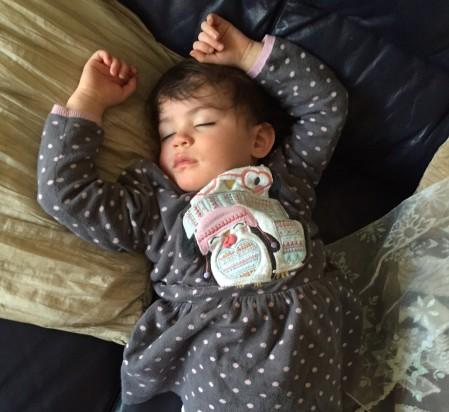 Kara asleep