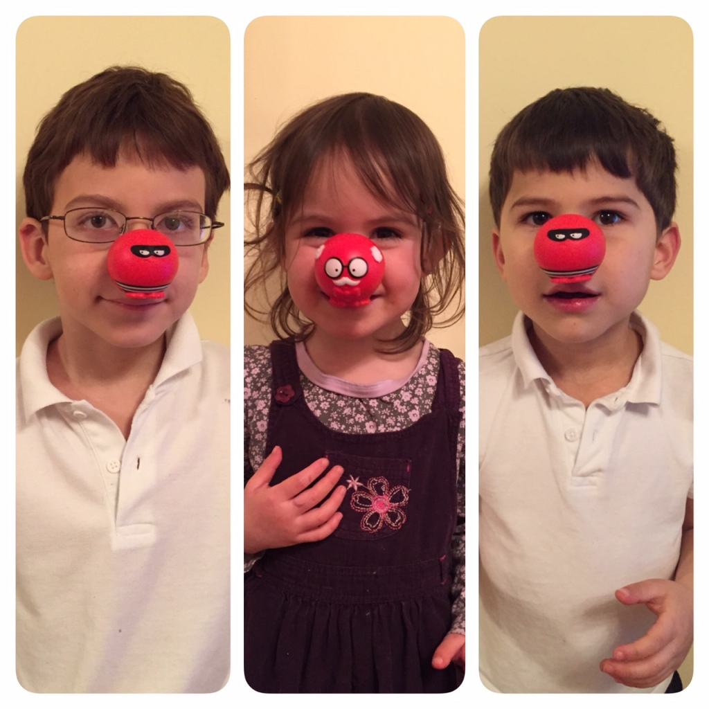 Kids Comic Relief red noses