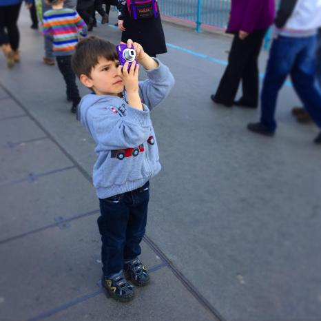 Toby the shutterbug