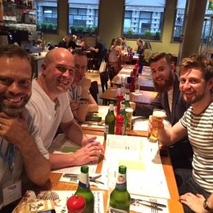 BritMums Live dads' dinner
