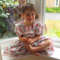 Kara dress in window
