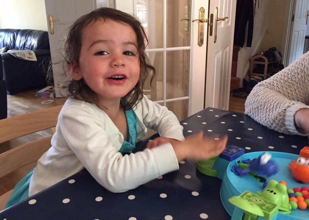 Kara playing games