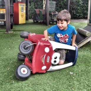 Toby car crash