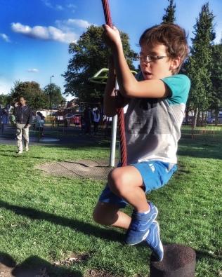 Isaac rope swing