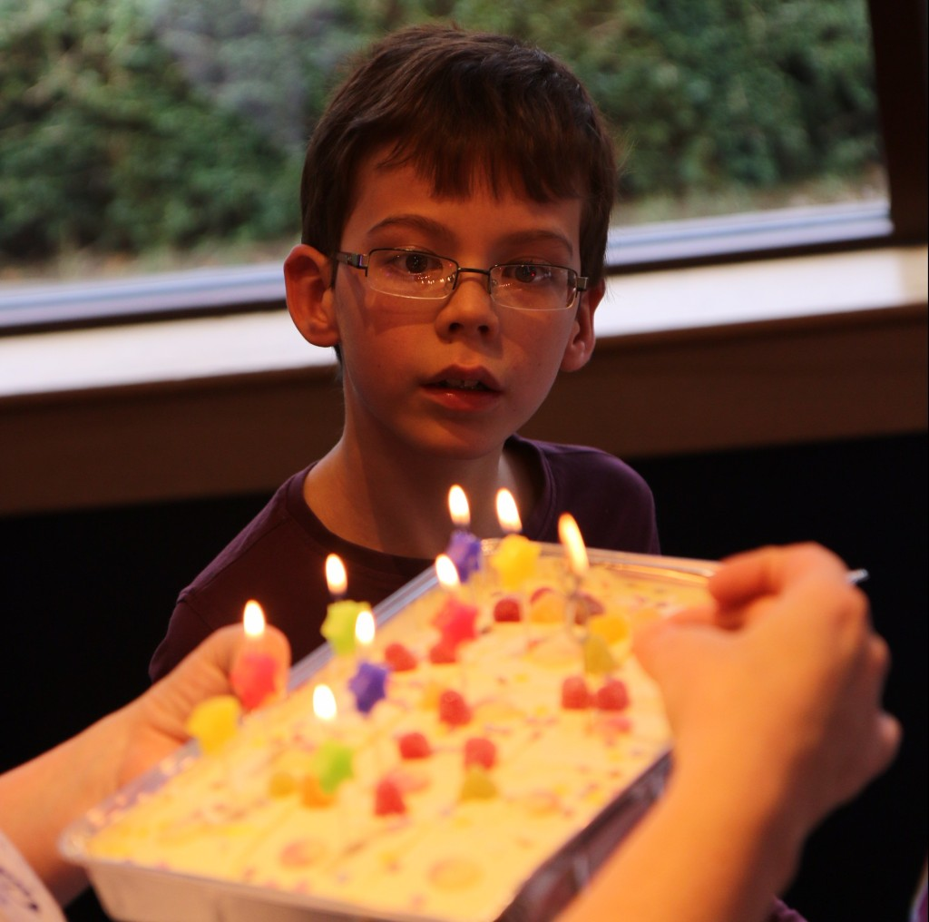 Isacc birthday cake