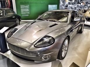 British Motor Museum Aston Martin Vanquish