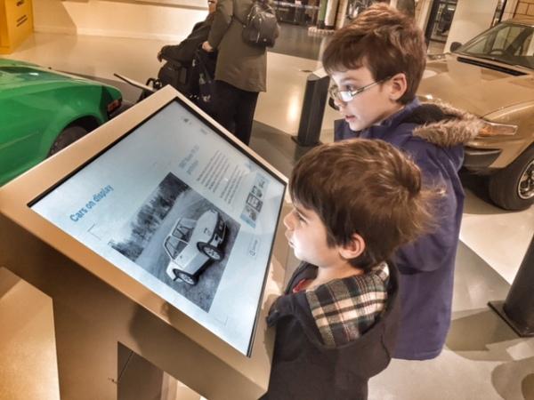 British Motor Museum interactive display
