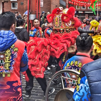 Lion Chinese New Year