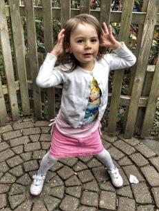 Kara dancing