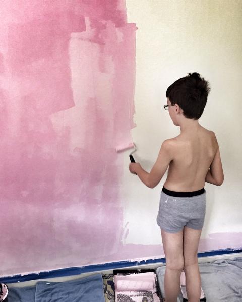 Isaac painting