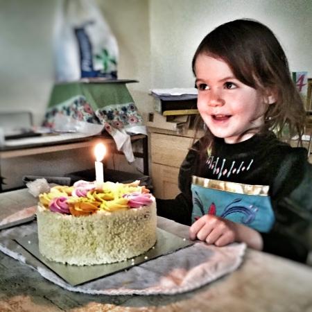 Kara 4th birthday cake