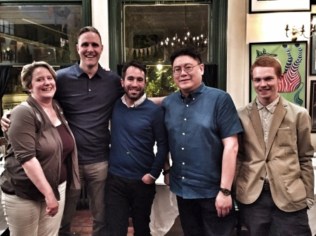 Kathi Hall, Chris Carlson, Anthony Beal, Tim Liew, Jack Sargeant