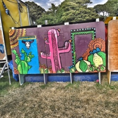 Camp Bestival kids toilets