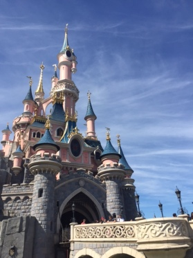 Disneyland Paris castle 2
