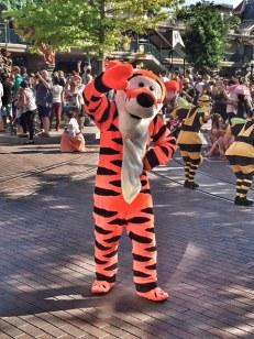 Disneyland Paris parade Tigger