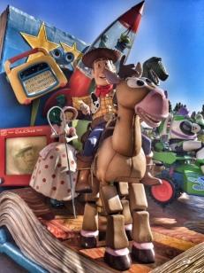 Disneyland Paris parade Woody