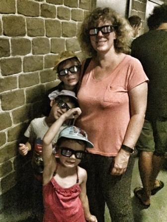 Disneyland Paris Ratatouille 3D glasses