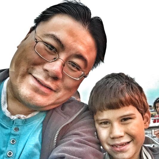 butlins-daddy-toby-selfie