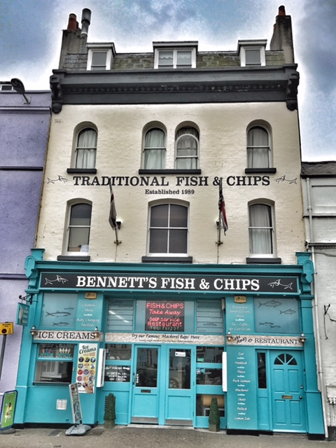 Weymouth fish and chip shop