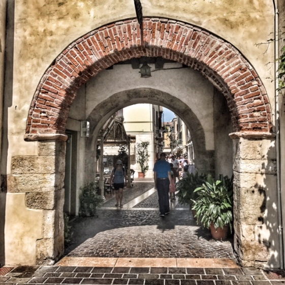 Summer holiday 2017 Bardolino gate