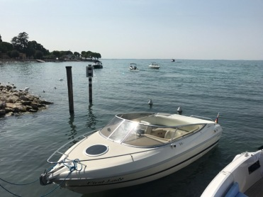 Summer holiday 2017 Bardolino Lake Garda view