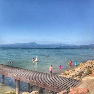 Summer holiday 2017 Del Garda Village and Camping beach