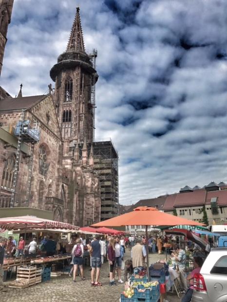 Summer holiday 2017 Freiburg Munster
