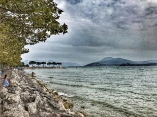 Summer holiday 2017 Sirmione Lake Garda view